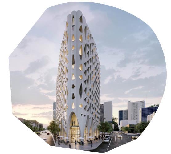 Native 'Populus' Inspires Design of Denver Development
