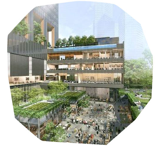 Singapore's Guoco Midtown To Include Multiple Gardens